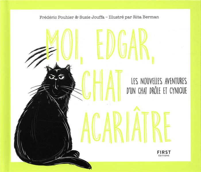 MOI, EDGAR, CHAT ACARIATRE 2 - 02 POUHIER FREDERIC FIRST